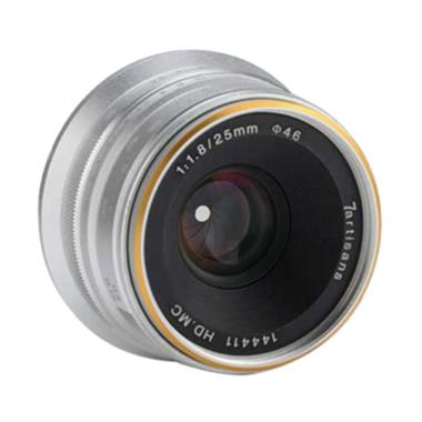 7Artisans 25mm F1.8 Lens for Fujifilm X - Silver