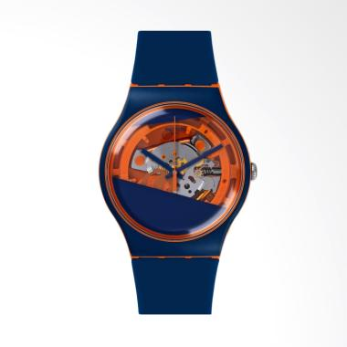 Swatch Jam Tangan Pria - Blue Orange [Suoo102/Original]
