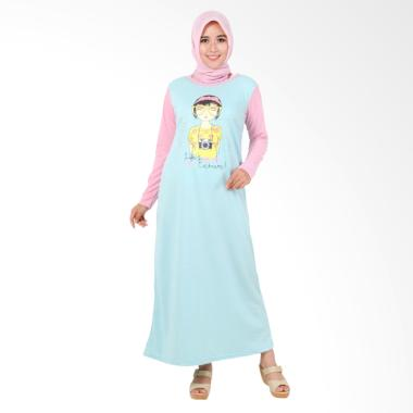Edberth Fashion Neira Long Dress Muslim Wanita