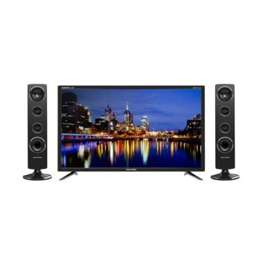POLYTRON PLD 40TS853 TV LED with Speaker Tower [40 Inch]