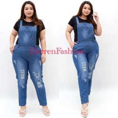 FREE ONGKIR Baju Celana Kodok Jumper Jumpsuit Overall Jeans Ripped RIP Pria Wanita