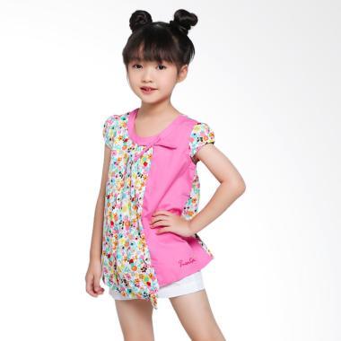 Pingu 906781 Flower Blouse Atasan Anak