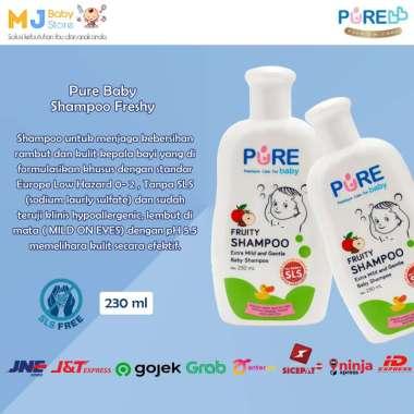 harga TERMURAH !!! Purebaby Fruity Shampoo baby Premium Case 230ml | Shampo Bayi Purebaby Aroma Buah 230ml [ORIGINAL PREMIUM QUALITY] BESTSELLER !!! 4021 Blibli.com