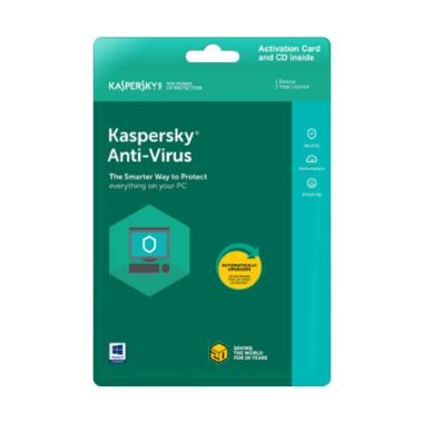 Kaspersky Anti Virus 2018 [1 User/ Original]