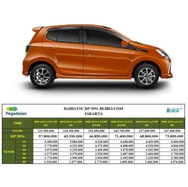 harga Daihatsu New Ayla 1.0 X MC Mobil [DP 50%] 24 Orange Metallic M/T Jakarta Blibli.com