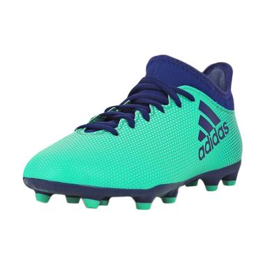 adidas Originals X 17.3 FG JR Sepat ... - Green Blue [Art#CP8993]