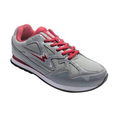 Eagle Aero Sepatu Lari Pria - Grey
