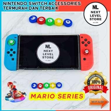 harga Analog Caps Joy-Con Thumb Grip Nintendo Switch-Lite Mario Luigi Series - ada 5 pilihan model - PILIH DI VARIASI Toad Blibli.com