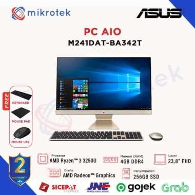 harga Asus AIO M241DAT-BA342T AMDRyzen 33250U 4GB 256GB SSD Win10 AMD Radeon Graphics BLACK Blibli.com