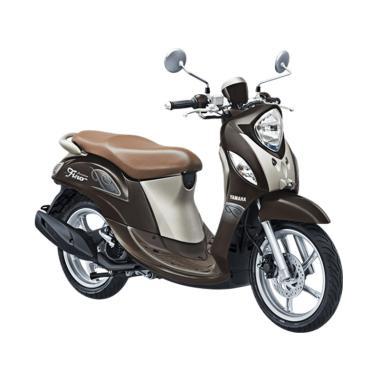 Yamaha New Fino Premium 125 Blue Co ... IN 2018 - OTR Jawa Timur]