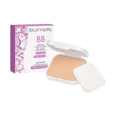 Silkygirl BB Brightening 2 Way Foundation Powder Refill