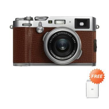 Fujifilm X100F Brown Free Instax Pr ... * jpckemang GARANSI RESMI