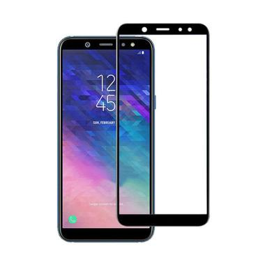 Grace Premium Tempered Glass Screen Protector for Samsung Galaxy A6 Plus 2018 6.0 inch - Hitam
