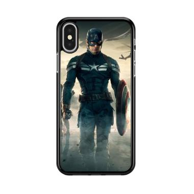 Jual Case Iphone X Captain Amerika Flazzstore Blibli Com
