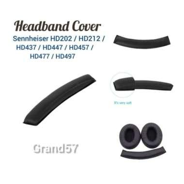 harga Unik Busa Headband cover headphone sennheiser hd202 212 437 447 457 477 497 Diskon Blibli.com