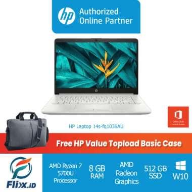 harga HP 14s-fq1036AU AMD Ryzen 7 5700U 8GB 512GBSSD 14 FHD W10 OHS 2019 Blibli.com