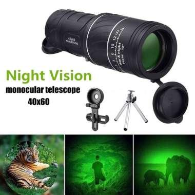 harga Mini Grip Scope 40X HD Optical Monocular Night Vision BAK4 Prism With tripod Blibli.com