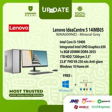 harga Lenovo IC 5 14IMB05 - 9NID - PC Desktop - [Intel Core i5-10400 / 8GB DDR4 / 1TB HDD / 23.8