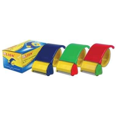 harga Tape Dispenser Lion PDL-01(Plastik) - Pemotong Lakban 2 inch Multicolor Blibli.com
