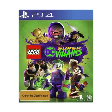 harga SONY PS4 Lego DC Super Villains + Bonus Figure Region 3 English Blibli.com