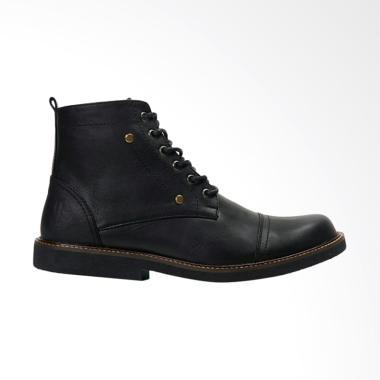 Sepatu Kulit Asli Boots Brodo Pria Reyl Streams 02 Black - Review ... 1329bfb8cd