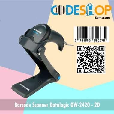 harga 2D BARCODE SCANNER DATALOGIC QW 2420 ( USB ) New Model abu-abu Blibli.com