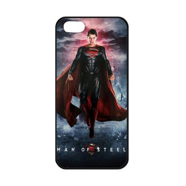 Flazzstore Man Of Steel Superman Fl ... Casing for iPhone 5/5S/SE