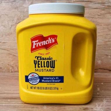 harga Frenchs classic yellow mustard 105 0z (2.97kg) Blibli.com
