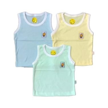 Sachibee Singlet Set Pakaian Dalam Bayi [3 pcs]