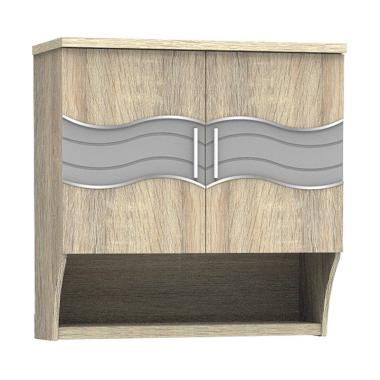 Super Furniture Ksa 921 Bagian Atas Dua Pintu Minimalis Kitchen Set