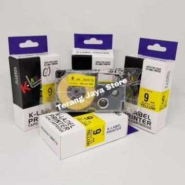 harga K-Label Printer Tape Catridge for Casio 9mm KZ-9YW Label for Casio 9mm Multicolor Blibli.com