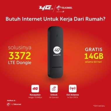 harga Modem 4G E3372 Megafone Unlock Free Telkomsel 14gb 60hari MULTY COLOUR Blibli.com