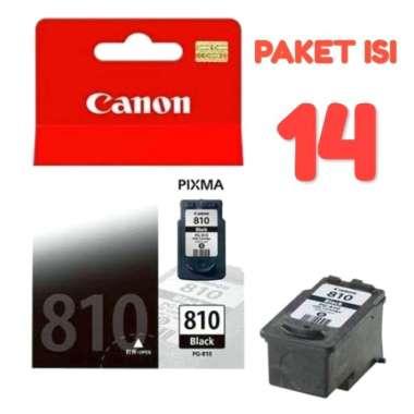 harga Jual Cartridge Canon Pg 810 Black Original (Paket Isi 14) Multicolor Blibli.com