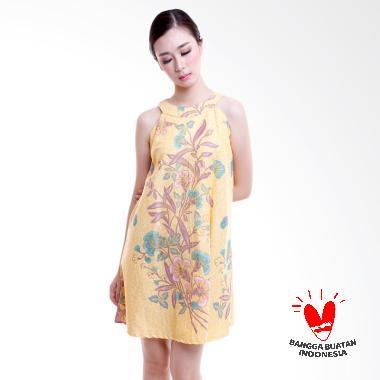 dhievine-batik_dhievine-batik-orchid-dress-wanita---yellow_full05 Ulasan Harga Baju Batik Wanita Yang Bagus Terbaru tahun ini