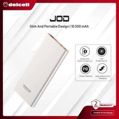Promo Delcell 10500mAh Powerbank JOD Real Capacity Power Delivery dan QC 3.0 Diskon