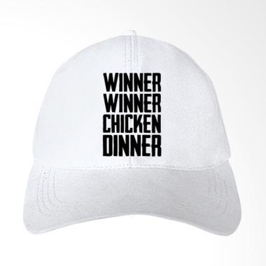 IndoClothing PUBG Winner Winner Chicken Dinner Topi Baseball