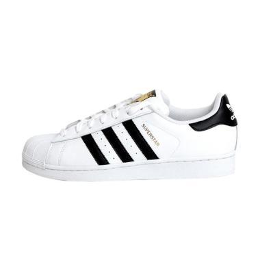 adidas Superstar Foundation Men Sepatu Olahraga Pria - White Black