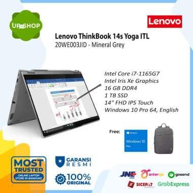 harga Lenovo ThinkBook 14s Yoga ITL - 3JID - Laptop - [Intel Core i7-1165G7 / 16GB DDR4 / 1TB SSD / 14