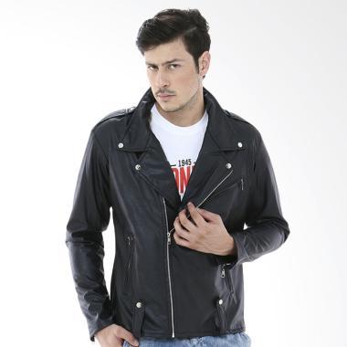 Jual Black Leather Jacket Online - Harga Baru Termurah Mei 2019 | Blibli.com