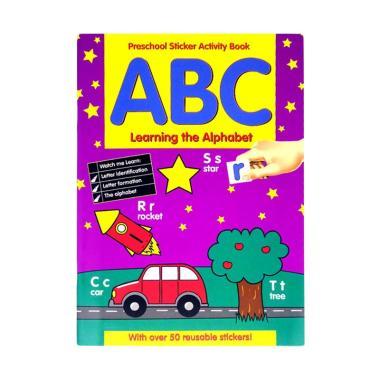 harga Alligator Books Preschool Sticker Activity Book ABC Learning the Alphabet With over 50 reusable stickers! Buku Anak Blibli.com