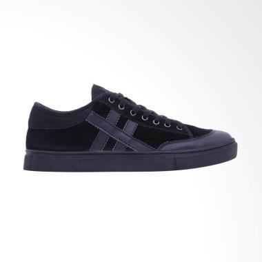 HRCN Hashtag Sepatu Sneaker Pria - Black [H 5364]