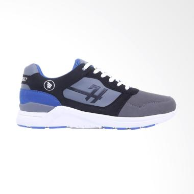 HRCN South Beast Sepatu Sneaker Pria - Grey [H 5353]