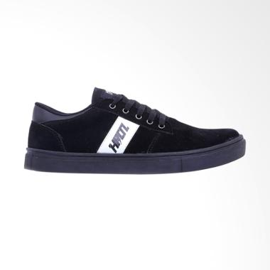 HRCN WHITE STRIPE Men Shoes Sepatu Sneaker Kets Pria [H 5372]