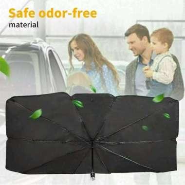 harga Pelindung Anti Panas Penutup Kaca Mobil Anti UV Matahari Payung Lipat Multicolor Blibli.com