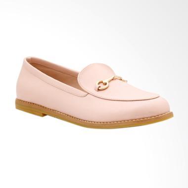 Khakikakiku Cathleen Sepatu Loafer Wanita - Pink