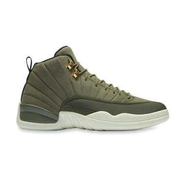 ... wholesale nike air jordan 12 retro sepatu basket pria dark green bad60  ae1aa 28df8b142b