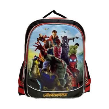 OEM Avengers Backpack Tas Sekolah Anak