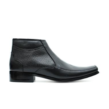 Cavallero Fazer Sepatu Formal Pria - Black [CFL17701E17]