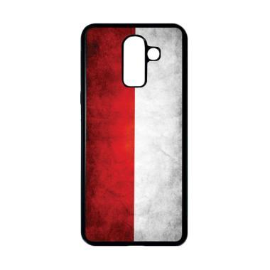 harga HEAVENCASE Bendera Indonesia 10 Casing for Samsung Galaxy J8 - Hitam Blibli.com