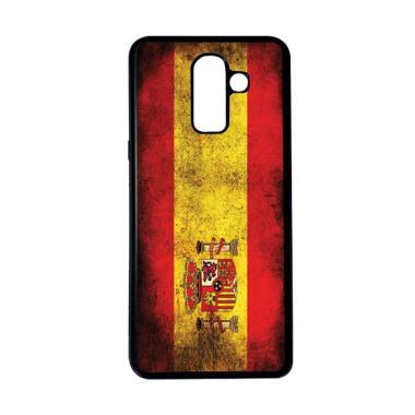 harga HEAVENCASE Motif Bendera Spanyol 18 Softcase Casing for Samsung Galaxy J8 - Hitam Blibli.com